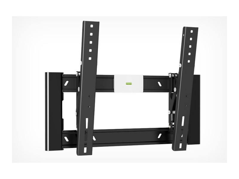 Кронштейн Holder LCD-T4608-B черный для ЖК ТВ 32-65 настенный от стены 40мм наклон -2°/+15° VESA 40 holder lcd t4609 b для 32 –65 черный
