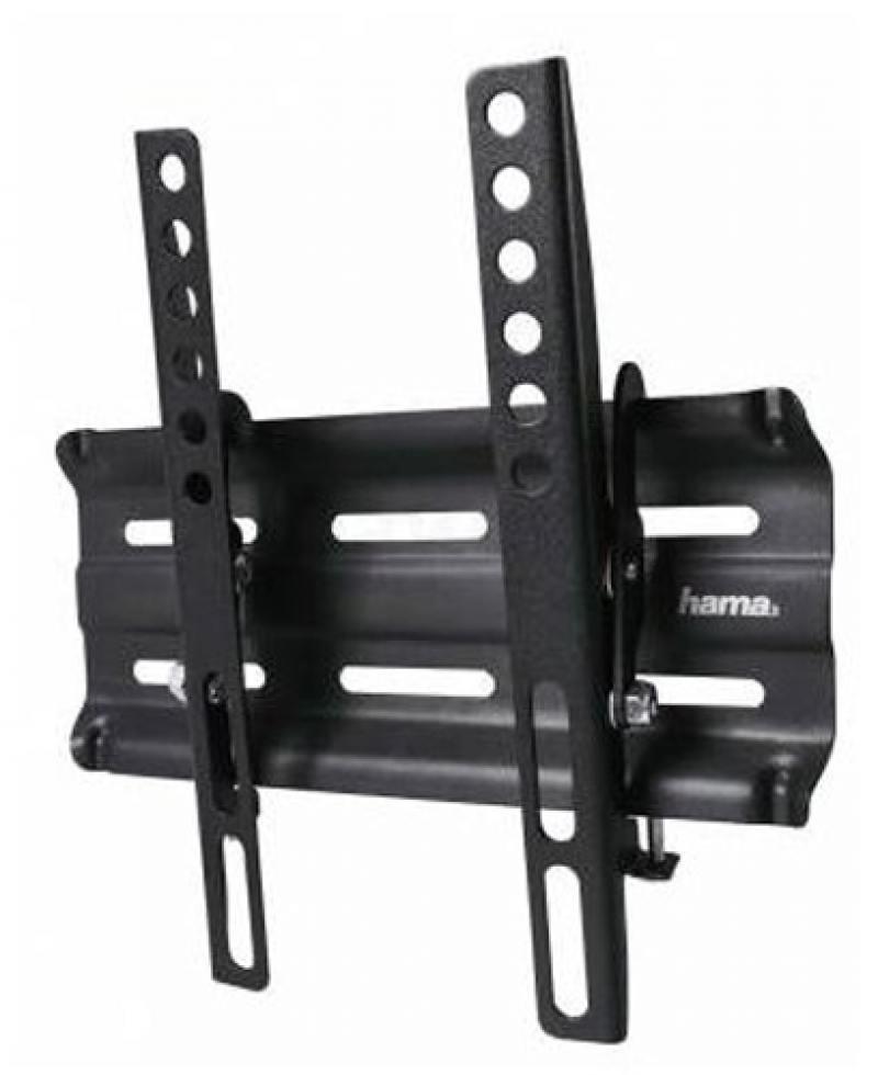 Кронштейн HAMA H-118114 черный для ЖК настенный наклон