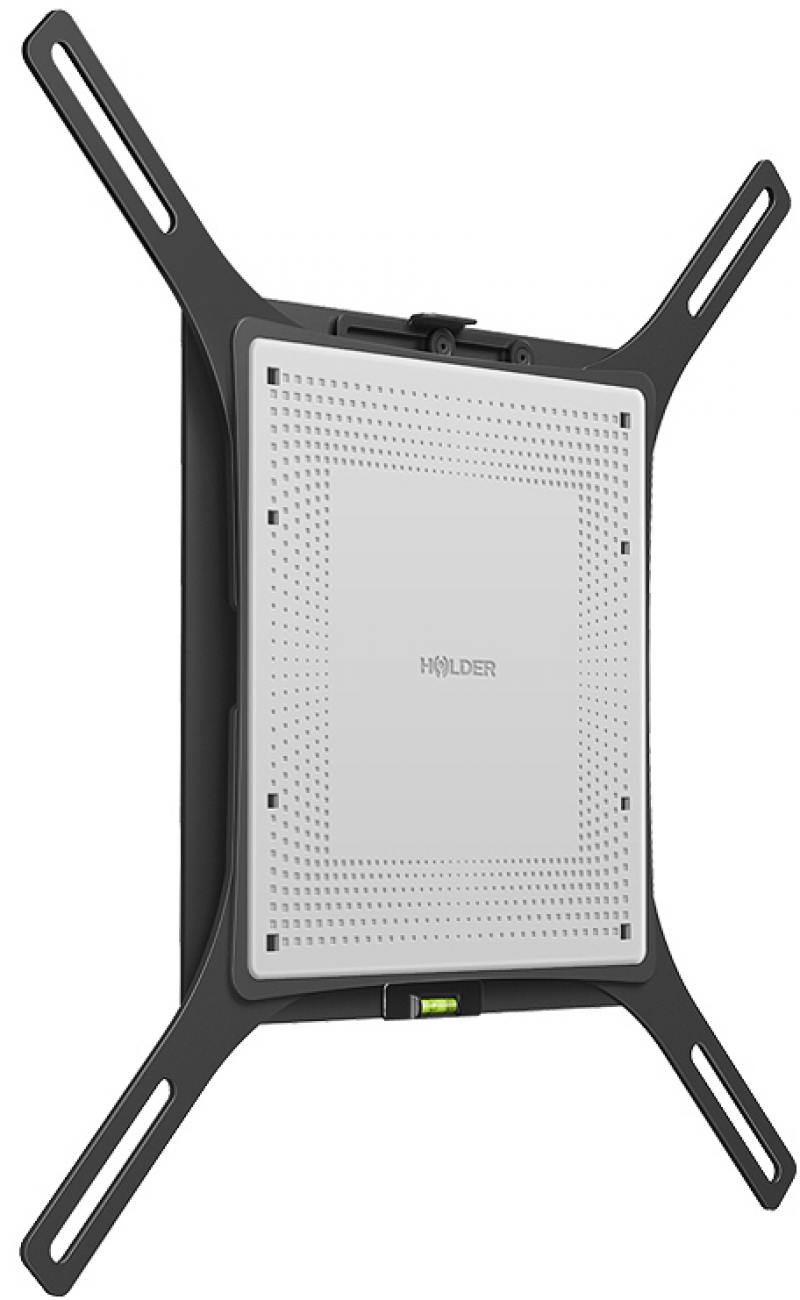 Кронштейн Holder LCD-F4801 черный для ЖК ТВ 32-65 настенный до 40 кг holder lcds 5065 black gloss кронштейн для тв