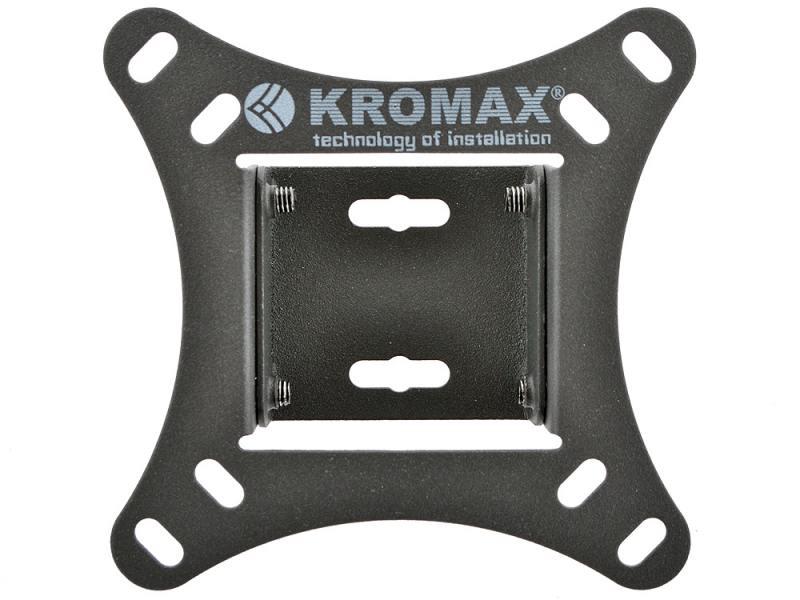 Кронштейн kromax VEGA-6 Серый LCD/LED тв 10-26  настенный 1 степень свободы VESA 75/100 max 20 кг
