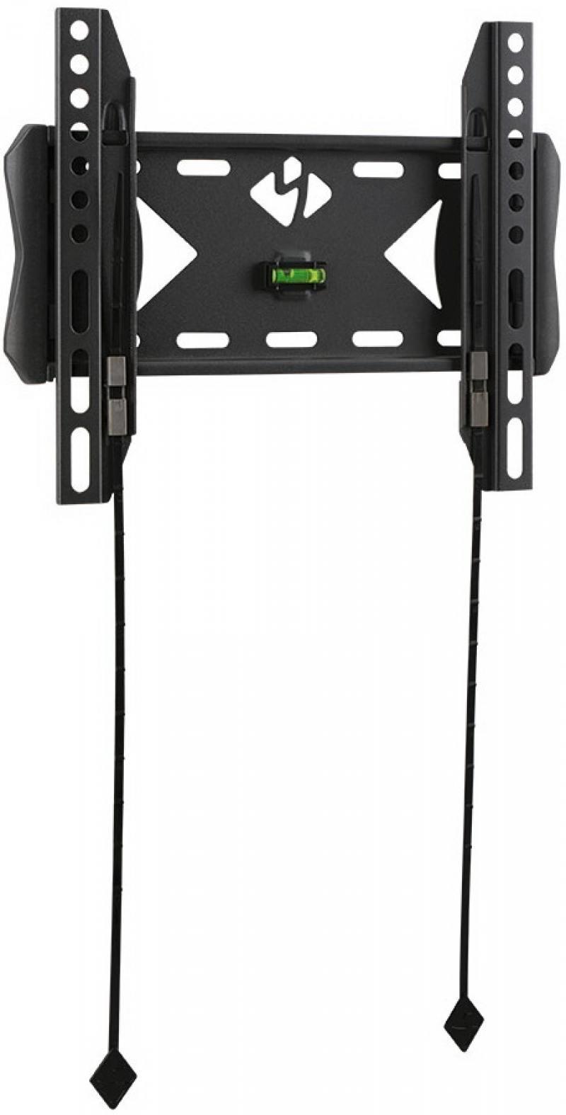 Кронштейн kromax FLAT-5 черный LCD/LED и плазма тв 15-40 настенный VESA 200x200мм кронштейн для тв kromax star 11