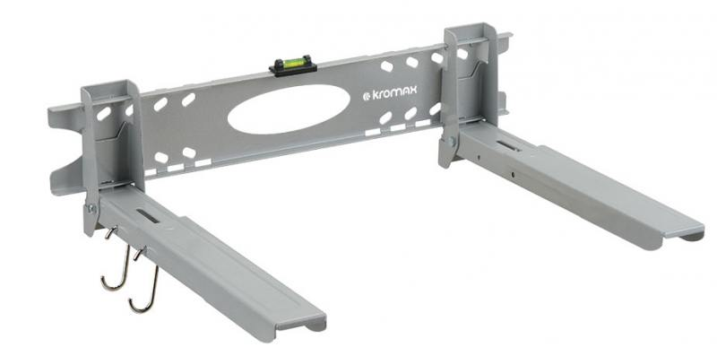 Кронштейн для СВЧ-печей Kromax MICRO-5 серебристый max 30 кг настенный от стены 320 мм kromax micro 3 white кронштейн для свч печей