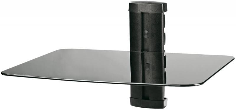 Кронштейн для DVD плееров Tuarex CORSA-6001 черный максимальная нагрузка 10 кг