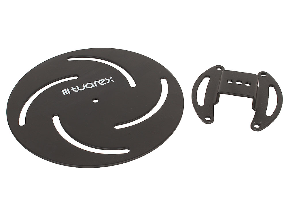 Потолочный кронштейн Tuarex Corsa 2010 black, для проекторов max 15 кг, 2 ст св., наклон и пов. +/-15°, от 110 мм. подставки для техники tuarex кронштейн для проекторов
