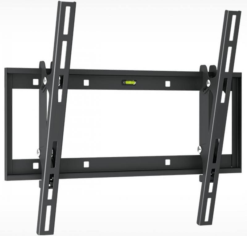 Кронштейн Holder LCD-T4609-B черный для ЖК ТВ 32-65 настенный от стены 60мм наклон -2°/+15° VESA 40 holder lcd t4609 b для 32 –65 черный