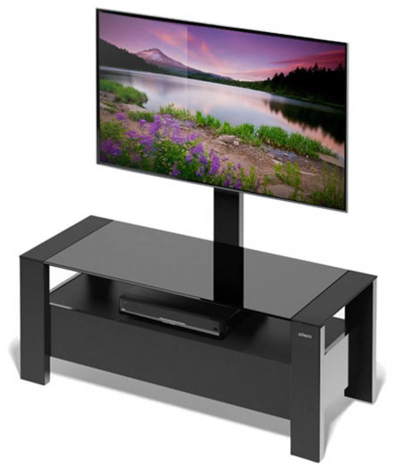 Тумба для телевизора Holder TV-34110 черный 32-65 тумба holder albero tv 37140 н черная
