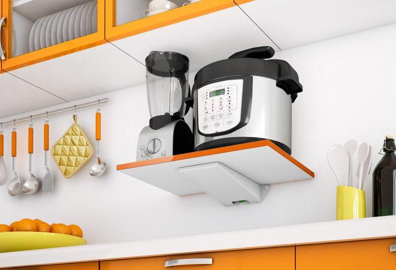 Крепление для СВЧ-печей Holder SKA-O белый оранжевый max 40 кг пена top house д плит свч печей 500мл