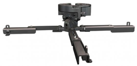 Крепеж Wize PR-UNV потолочный наклон +/- 25° поворот +/- 6° вращение 360° до 23 кг черный кронштейн для проектора wize pr unv s silver