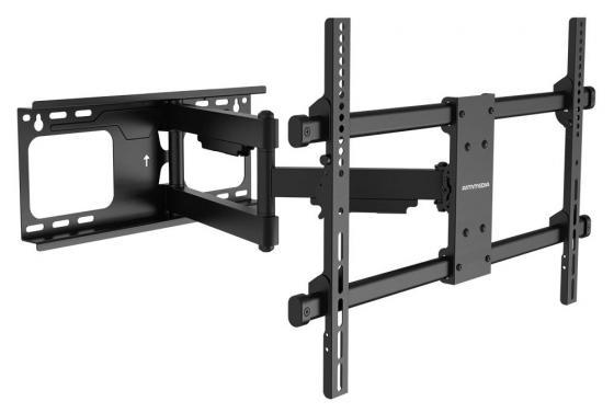 Кронштейн ARM Media Paramount-60 черный, для LED/LCD TV 26-75, max 60 кг, настенный, 5 ст свободы, от стены 69-615 мм, max VESA 600x400 мм