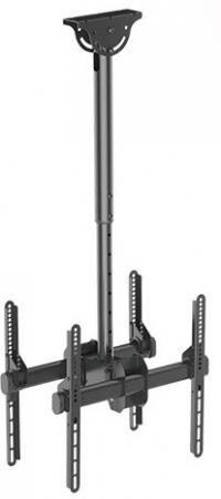Кронштейн ARM Media LCD-1850 черный для LED/LCD ТВ 26-65 потолочный до 90кг pl50 lcd