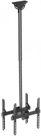 Кронштейн ARM Media LCD-1750 черный для LED/LCD ТВ 26-65 потолочный до 90кг pl50 lcd