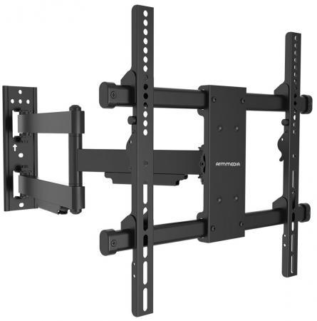 Кронштейн ARM Media Paramount-40 черный для LED/LCD ТВ 26-65 настенный до 50кг arm media lcd 301 black настенный кронштейн для тв