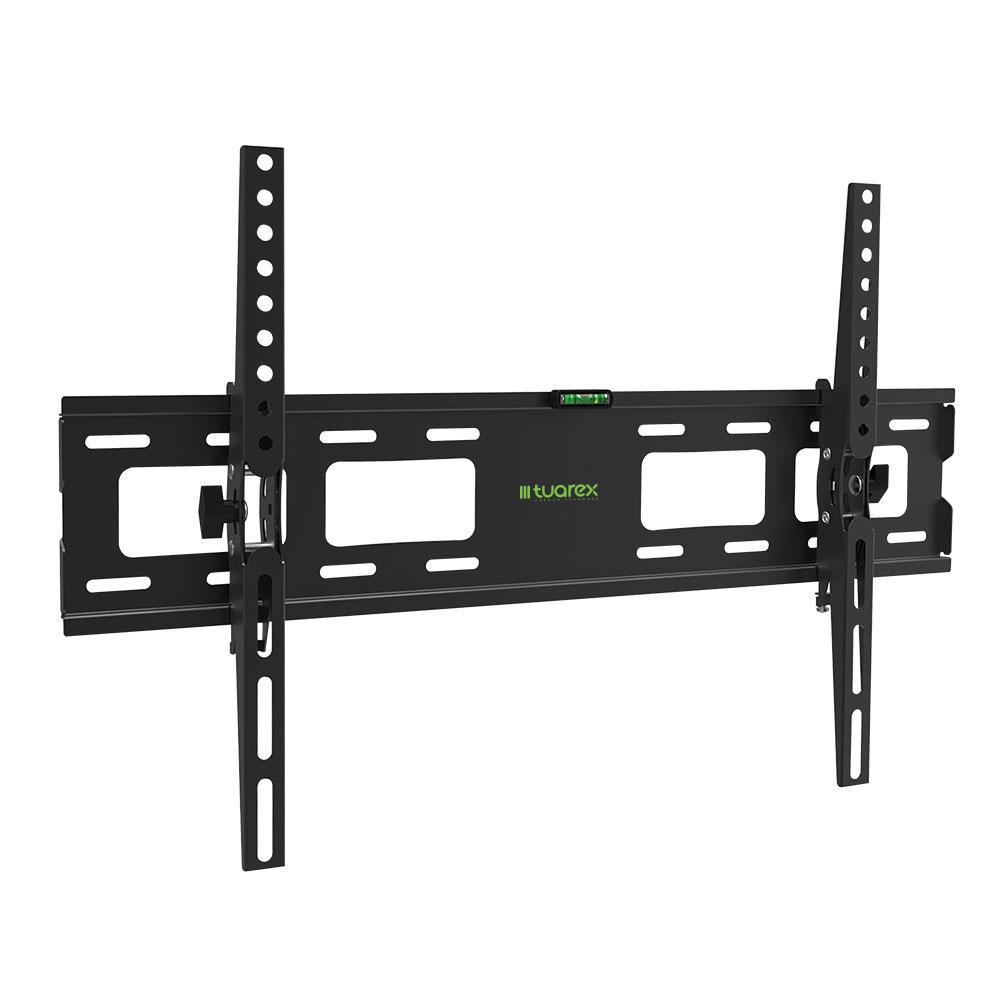Кронштейн Tuarex OLIMP-202 black, настенный для TV 32-90? от стены 48мм, наклон ±15, нагрузка макс 45 кг, VESA 600x400 подставки для техники tuarex кронштейн для проекторов