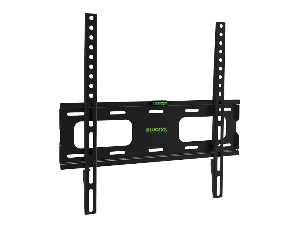 Кронштейн Tuarex OLIMP-203 black, настенный для TV 26-65, макс 40кг, от стены 20мм, VESA 400x400 подставки для техники tuarex кронштейн для проекторов