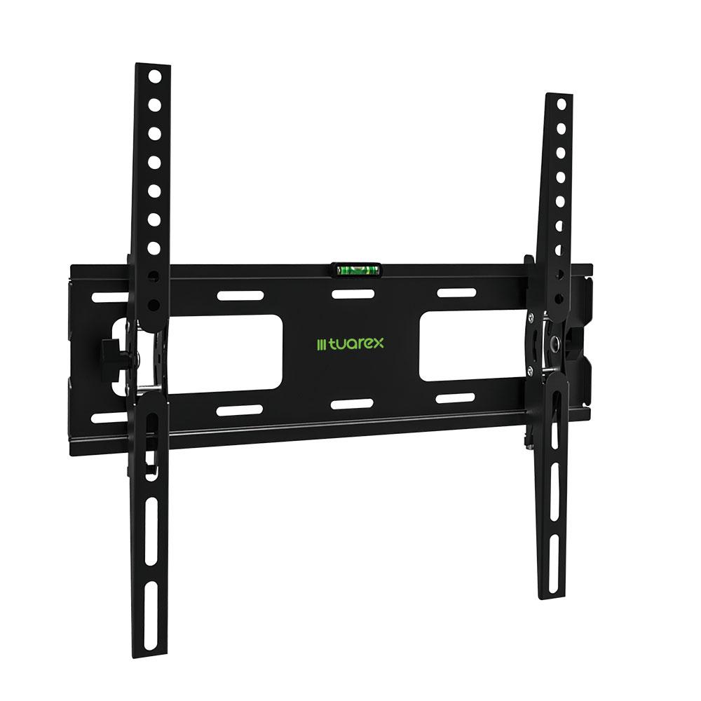 Кронштейн Tuarex OLIMP-204 black, настенный для TV 26-65, угол наклона ±15, макс 40кг, от стены 48мм, VESA 400x400 подставки для техники tuarex кронштейн для проекторов
