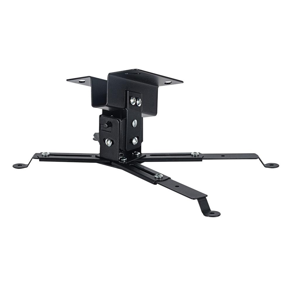 Кронштейн для проекторов VLK TRENTO-81 Черный потолочный, наклонно-поворотный, до 15 кг кронштейн для проекторов vlk trento 81 черный потолочный наклонно поворотный до 15 кг