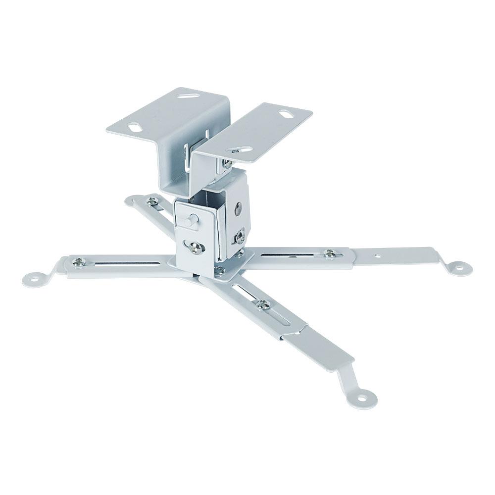Кронштейн для проекторов VLK TRENTO-81w Белый потолочный, наклонно-поворотный, до 15 кг кронштейн для проекторов vlk trento 81 черный потолочный наклонно поворотный до 15 кг