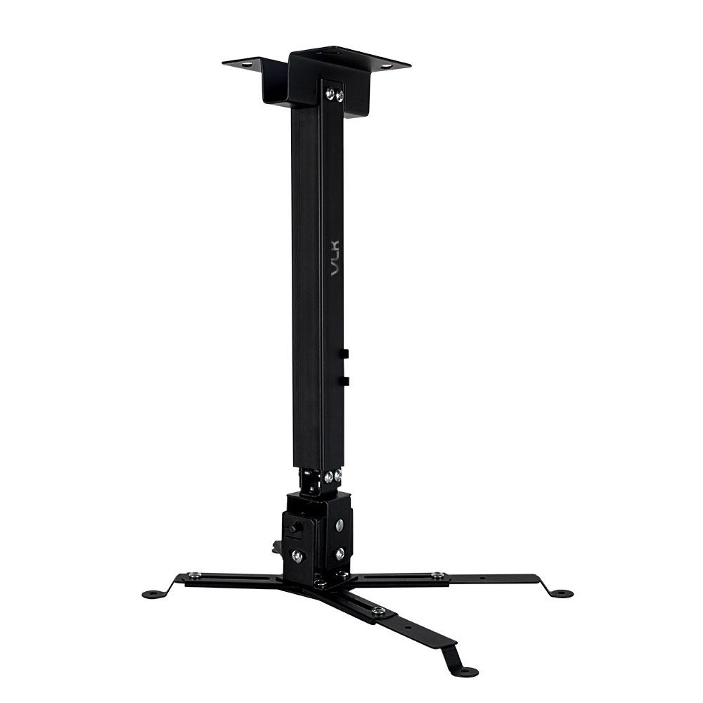 Кронштейн для проекторов VLK TRENTO-82 Черный настенный/потолочный, наклонно-поворотный, до 15 кг