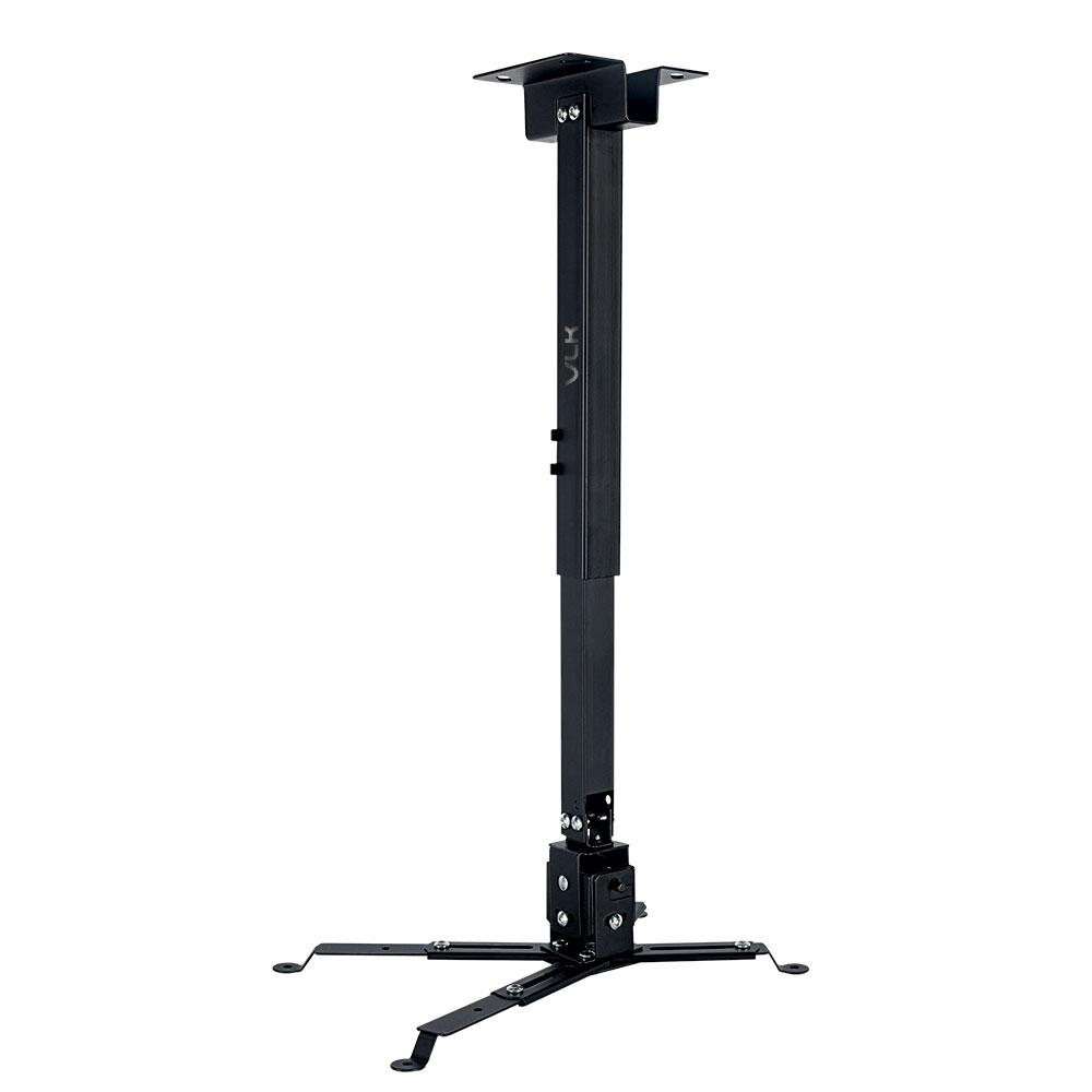 Кронштейн для проекторов VLK TRENTO-83 Черный настенный/потолочный, наклонно-поворотный, до 15 кг оверлок kromax vlk napoli 2900