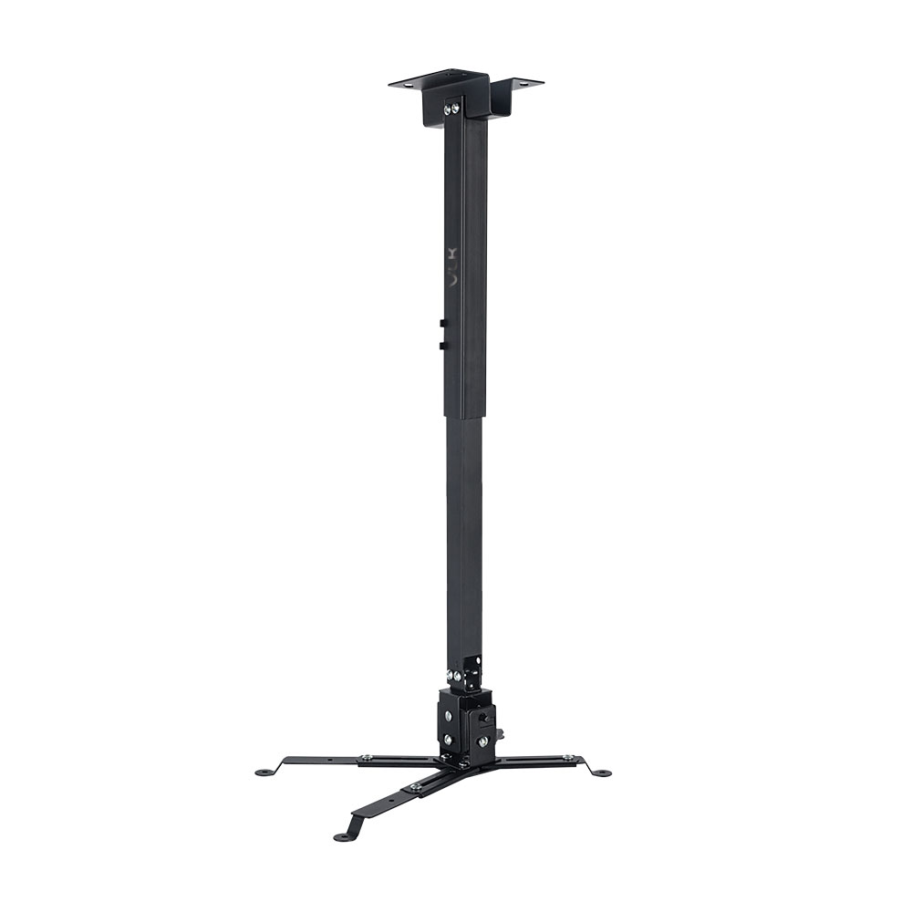 Кронштейн для проекторов VLK TRENTO-84 Черный настенный/потолочный, наклонно-поворотный, до 15 кг оверлок kromax vlk napoli 2900