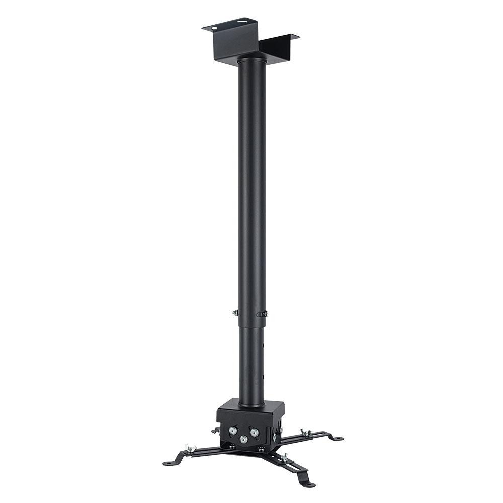 Кронштейн для проекторов VLK TRENTO-85 Черный потолочный, наклонно-поворотный, до 15 кг кронштейн holder pr 103 b черный для проекторов потолочный до 20 кг