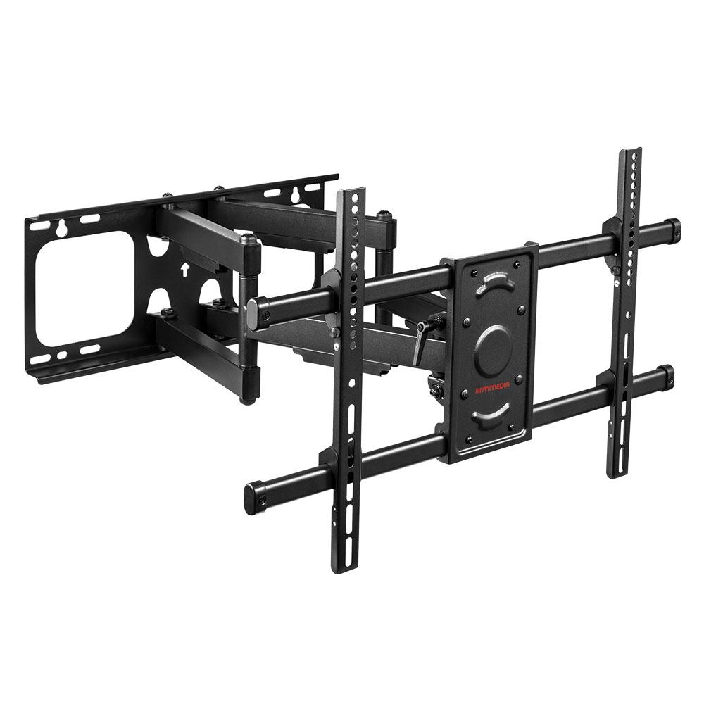 Кронштейн ARM Media Paramount-70 черный, для LED/LCD TV 32-90, max 65 кг, настенный, 4 ст свободы, от стены 69-635 мм, max VESA 600x400 мм аксессуар kupo max arm kcp 101qw