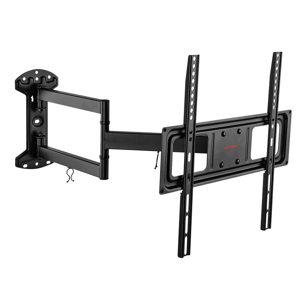 Кронштейн для телевизора ARM Media LCD-415 черный настенный, наклонно-поворотный, VESA до 600x400, до 35 кг