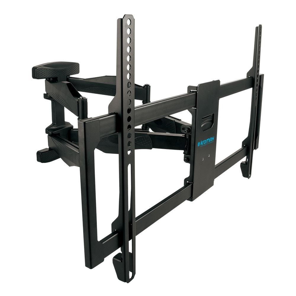 Кронштейн Kromax ATLANTIS-35 black Для LCD/LED ТВ 26-65, настенный, 5 ст. свободы, max VESA 600x400, max 50 кг кронштейн для тв kromax star 11 black