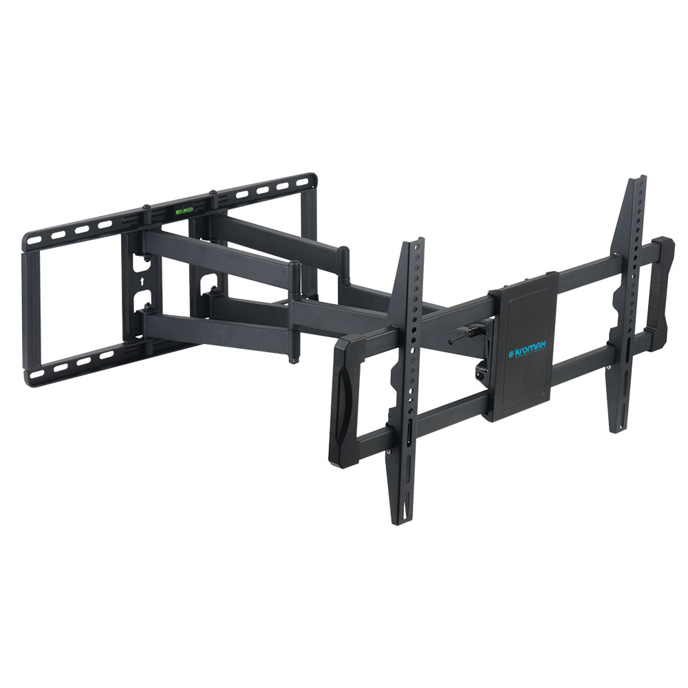 Кронштейн Kromax ATLANTIS-70 black для LED/LCD TV 32-75, max 101 кг, 4ст свободы, от стены 80-710 мм, max VESA 800x600 мм jjc lh 32 для nikon 18 105 мм 18 135 мм 18 70 мм замена объектива hb 32