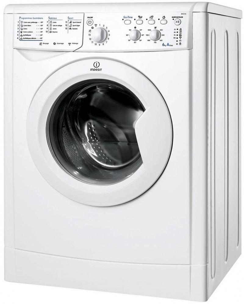 Стиральная машина Indesit IWSC 6105 стиральная машина indesit iwse 6105 b cis l