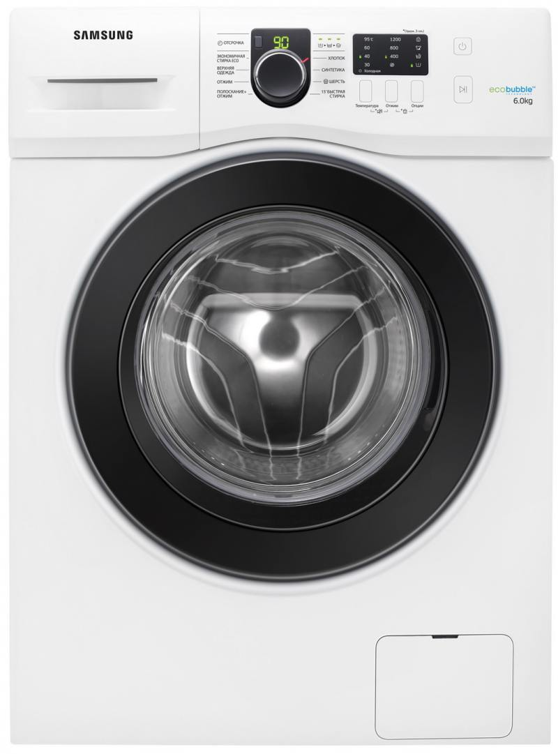 Стиральная машина Samsung WF60F1R2F2W стиральная машина samsung ww65k42e08wdlp