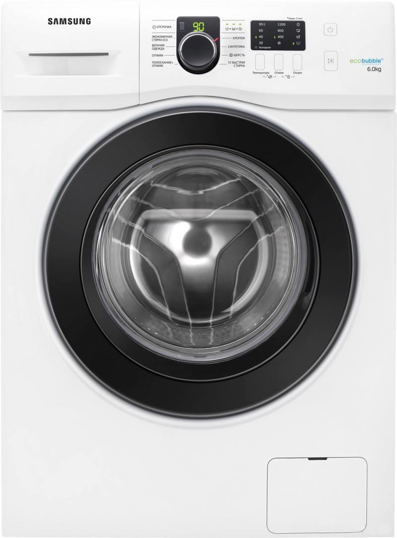 Стиральная машина Samsung WF60F1R2E2W стиральная машина samsung ww65j42e04w