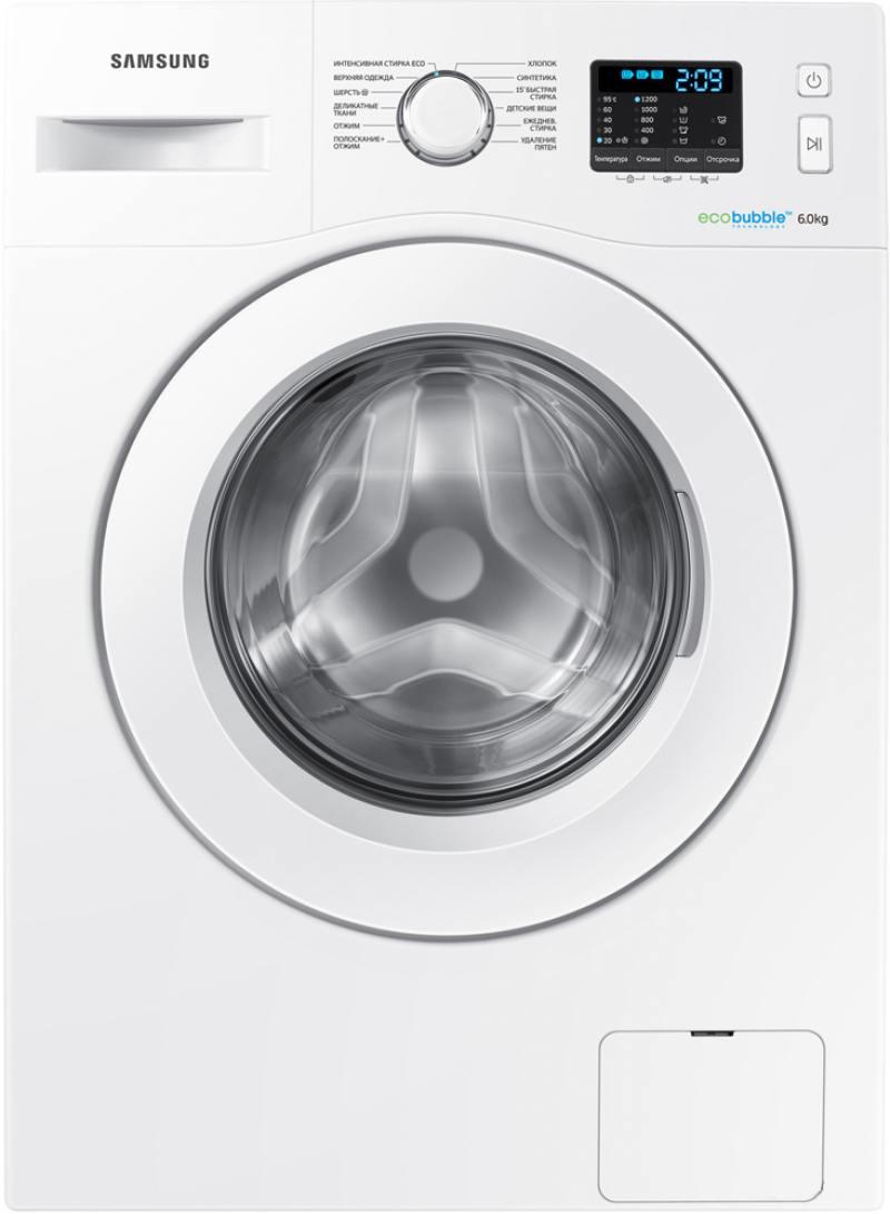 Стиральная машина Samsung WW60H2200EW стиральная машина samsung wf8590nlw9