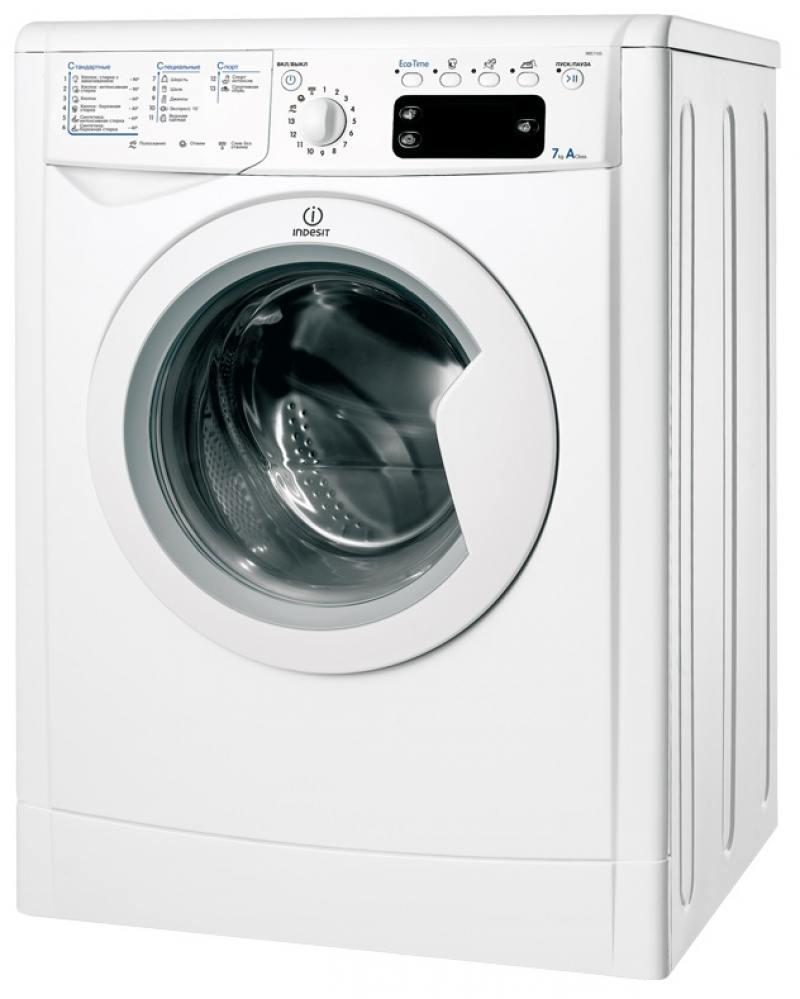 Стиральная машина Indesit IWE 7105 B цена и фото