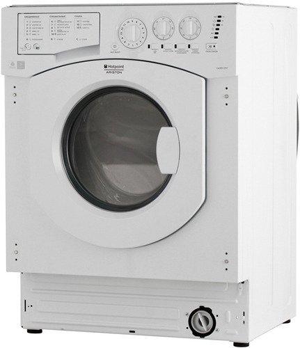 Встраиваемая стиральная машина с сушкой HOTPOINT-ARISTON CAWD 1297 (RU) стиральная машина встраиваемая hotpoint ariston cawd 1297 ru белый