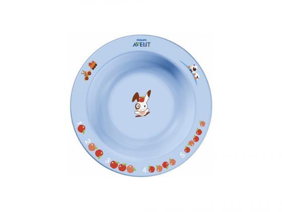 Тарелка Avent SCF706/01 1 шт от 6 месяцев голубой