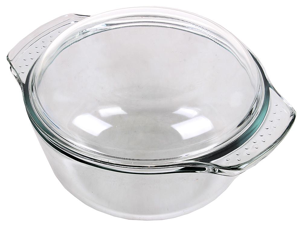 Кастрюля из стекла UNIT UCW-5102/25 , серия Weiler, для СВЧ и Духовки, от -30 до +250С, объём 2л. от OLDI