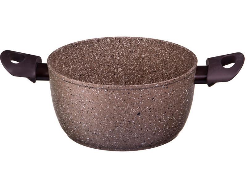 Кастрюля Tima AT-5124 ART Granit 24 см 4.5 л алюминий кастрюля tima tvs art granit at 5124 п 24 см 4 5 л