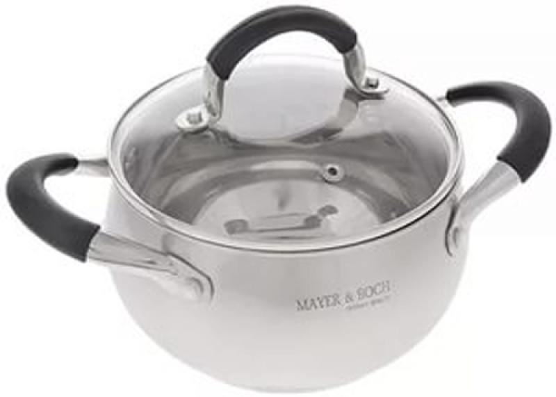 Кастрюля Mayer&Boch 4547-MB 16 см 2 л нержавеющая сталь сковорода d 24 см mayer and boch mb 22477