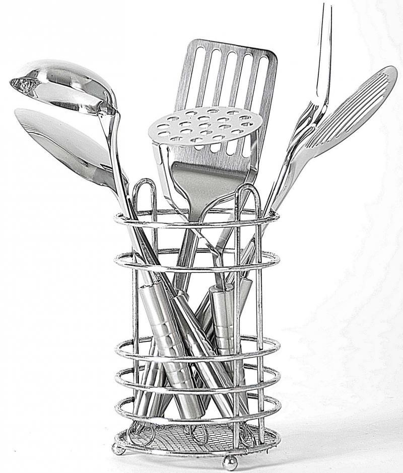 цена на Кухонный набор Bekker BK-3233 нержавеющая сталь 7 предметов