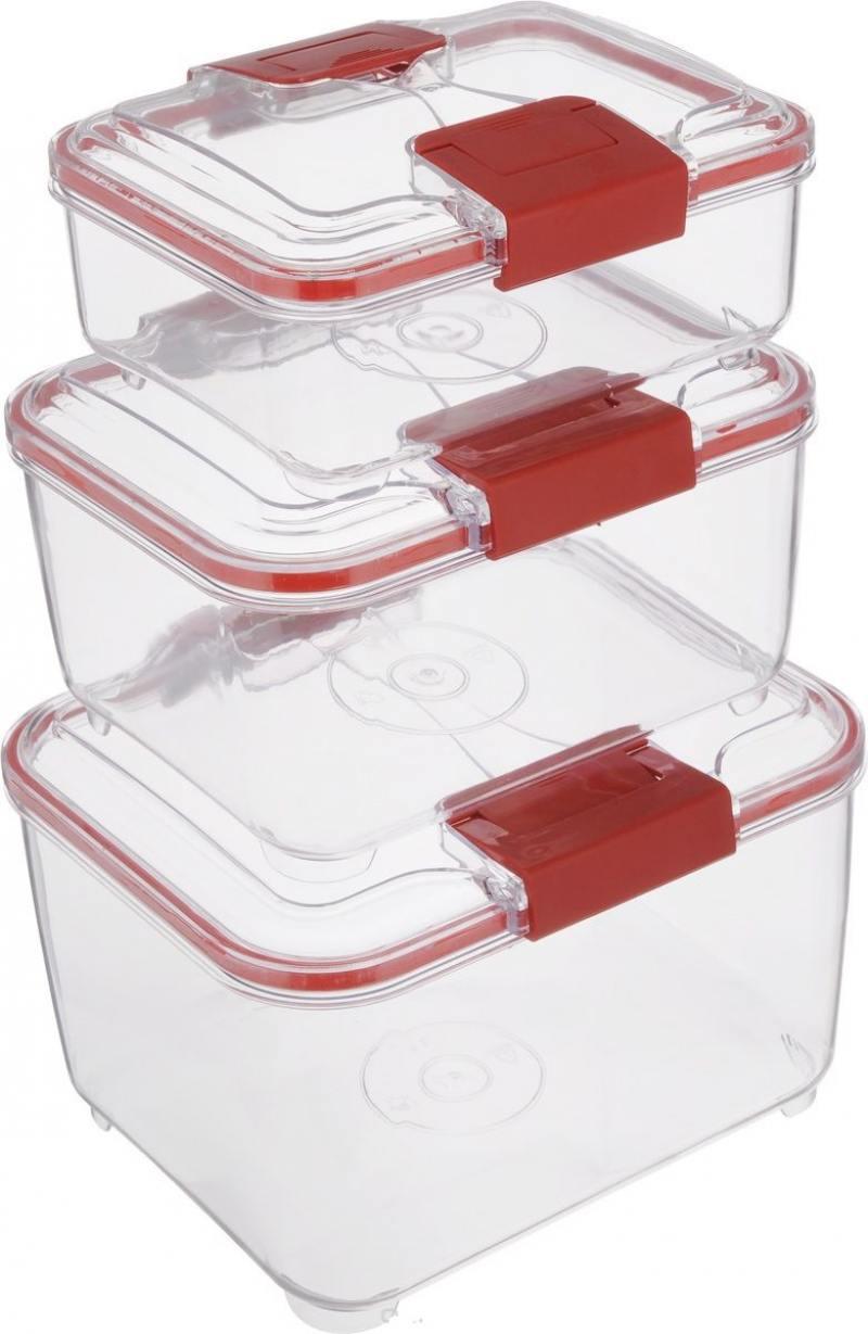 Набор контейнеров Status RC Set higer красный