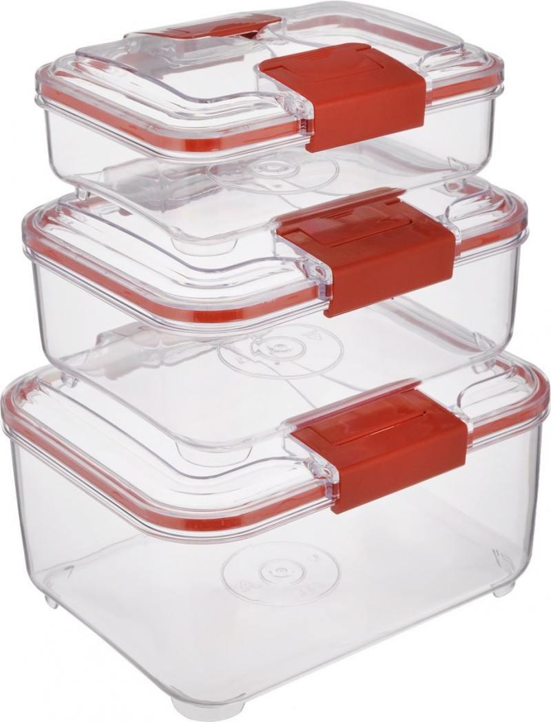 Набор контейнеров Status RC Set lower красный
