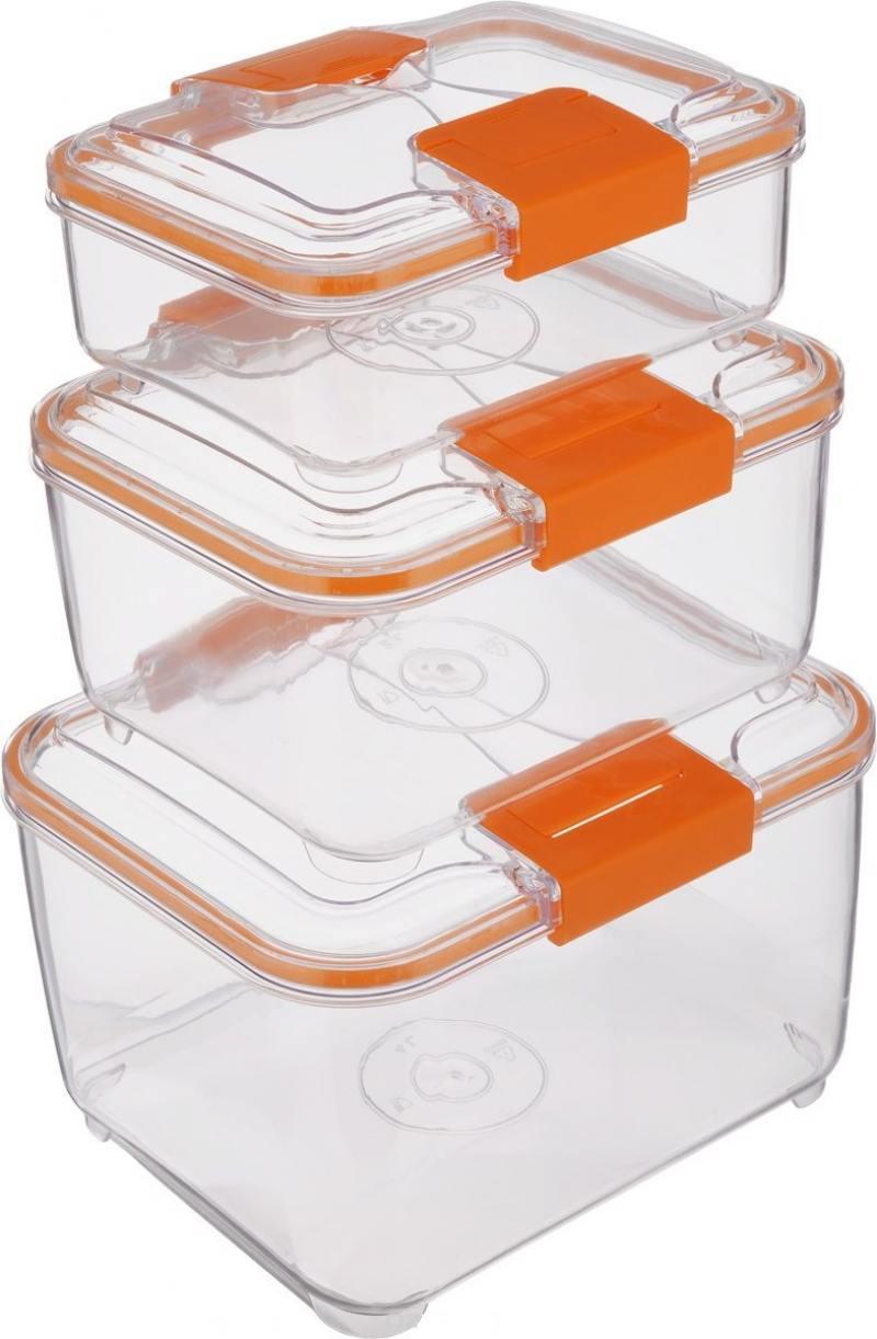 Набор контейнеров Status RC Set higer оранжевый status quo status quo back2 sq 1 live at glasgow 2 lp