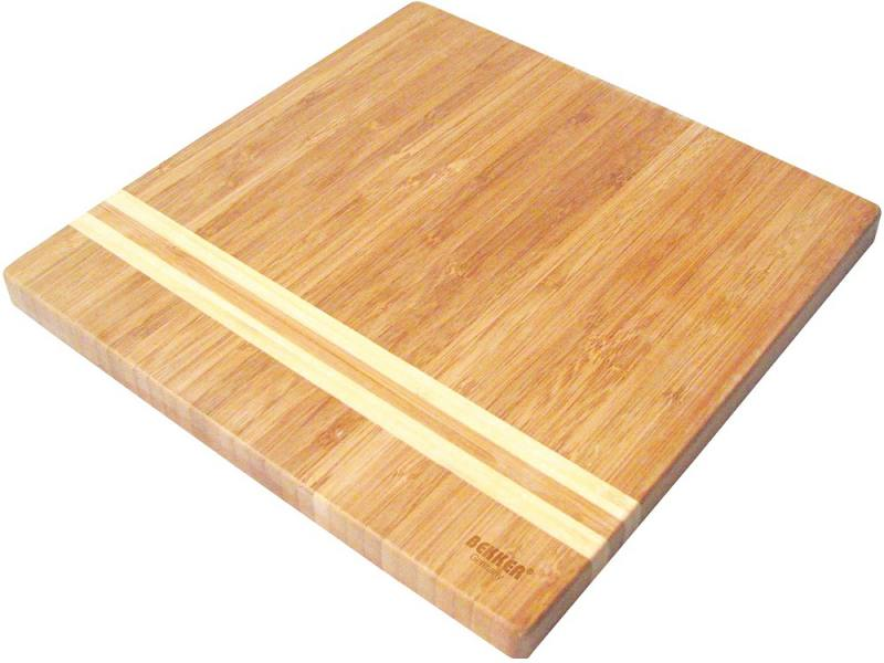 Доска разделочная Bekker BK-9725 25х25x1.8 бамбук разделочная доска bekker вк 9708
