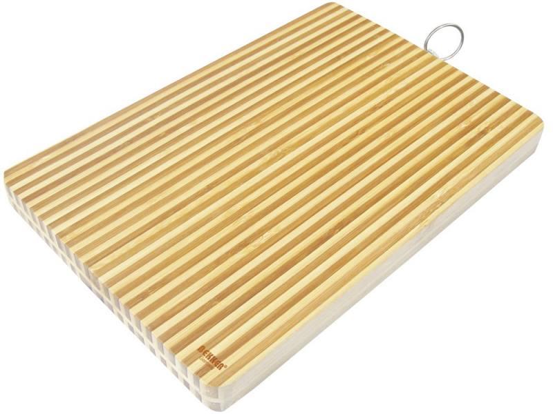 Доска разделочная Bekker BK-9704 30х20х2.5 бамбук доска разделочная bekker bk 9702 25x2 бамбук