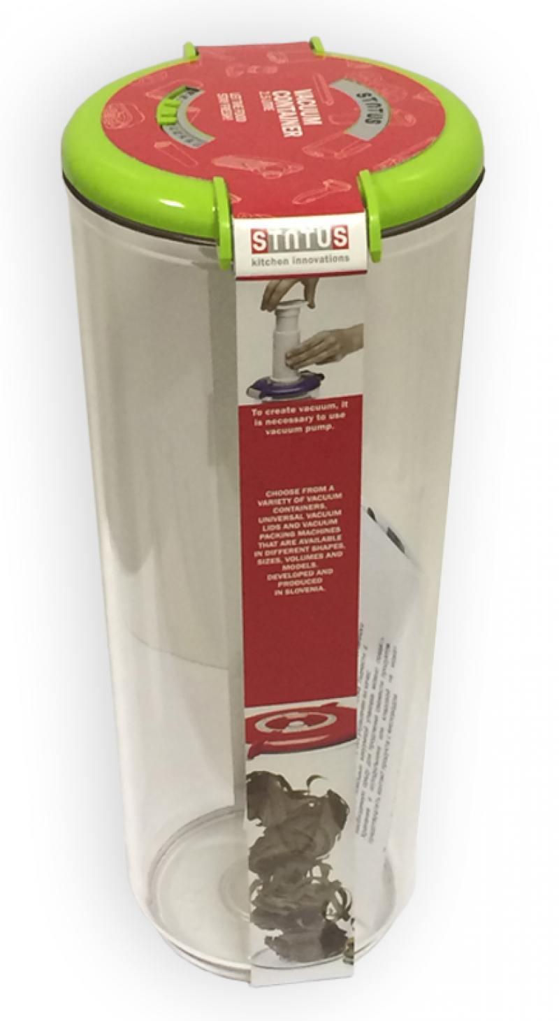 Контейнер для вакуумного упаковщика Status VAC-RD-25 зеленый