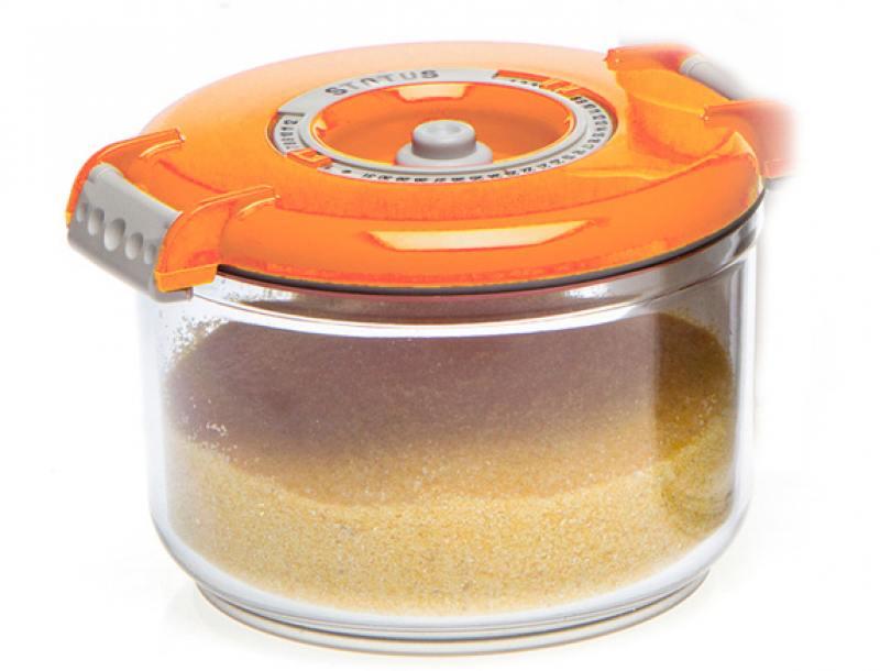 Контейнер для вакуумного упаковщика Status VAC-RD-075 оранжевый