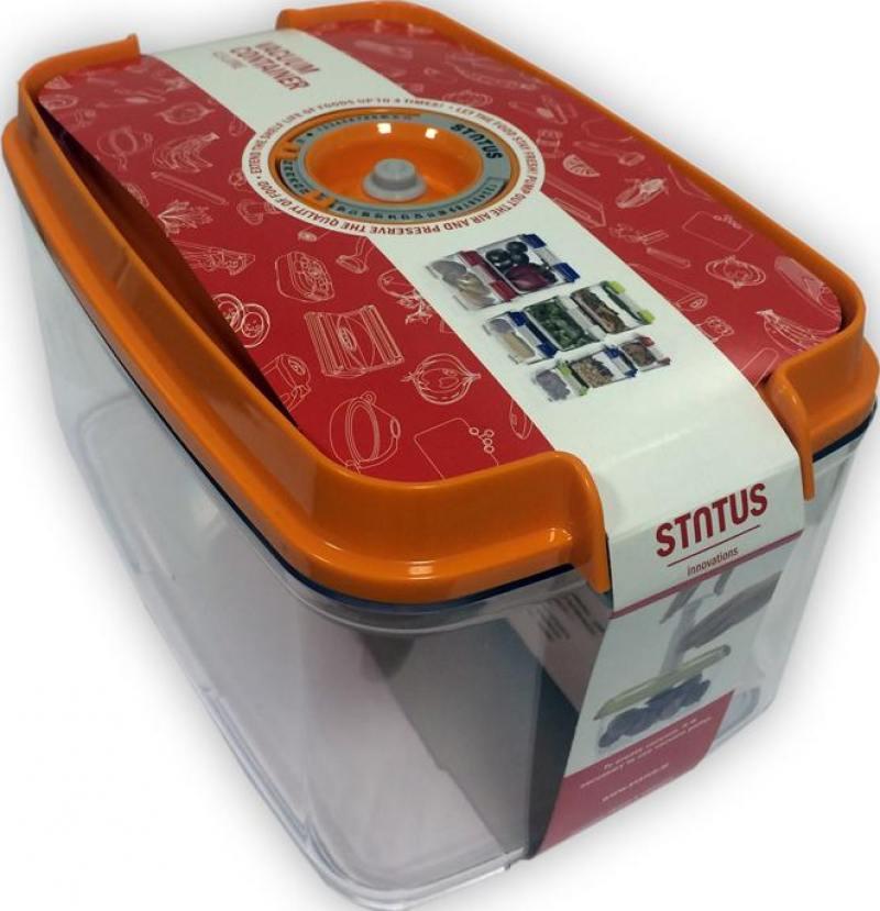 Контейнер для вакуумного упаковщика Status VAC-REC-45 оранжевый стоимость