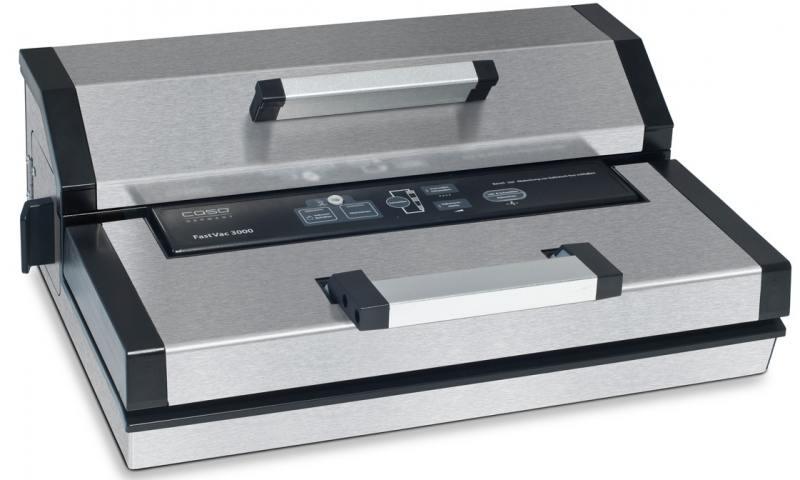 Вакуумный упаковщик CASO FastVAC 3000 вакуумный упаковщик redmond rvs m020 gray metallic