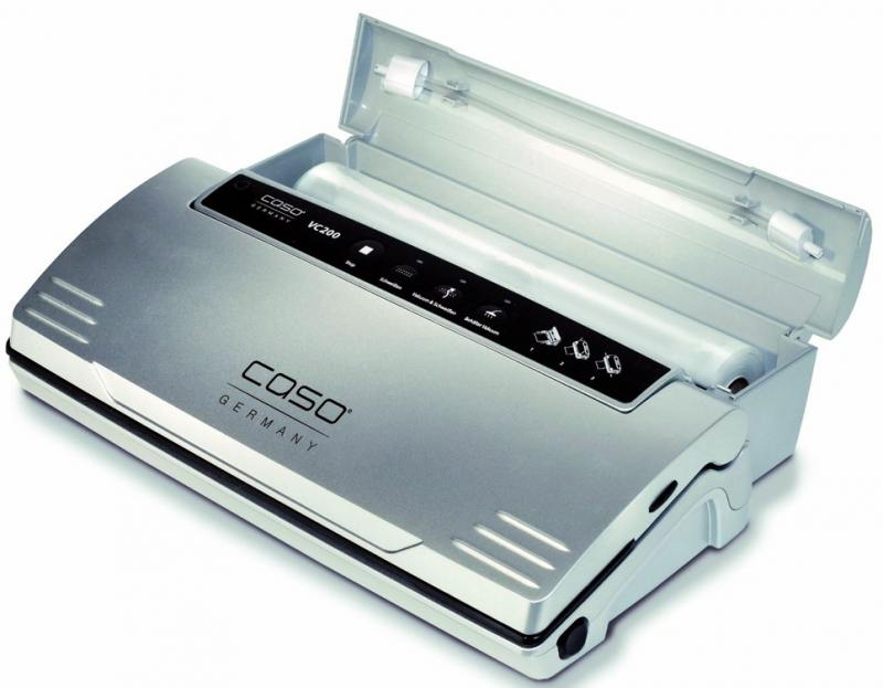 Вакуумный упаковщик CASO VC 200 вакуумный упаковщик redmond rvs m020 gray metallic